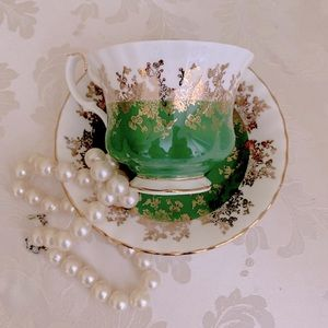 Royal Albert Regal Series teacup and saucer